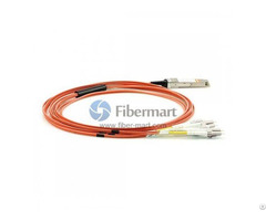 3m 9 8ft 40gbase Qsfp To Lc Sc St Fc Connector 8 Breakout Active Optical Cable