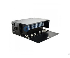 Loaded Lc Faps 4ru Rack Mount Fiber Enclosure Panduit Frme4 Compatible 288 Ports