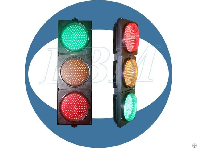 300mm Red Yellow Green Ball Traffic Light For Road Safety