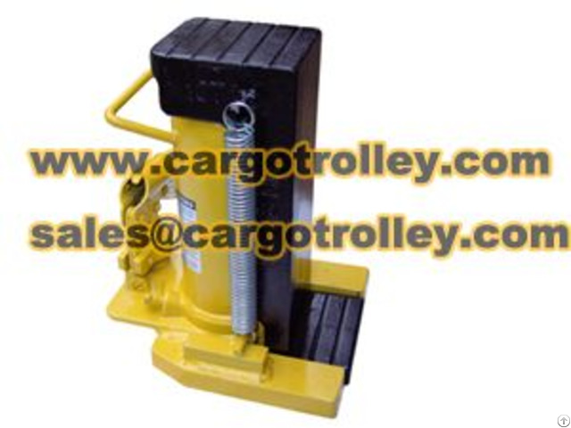 Manual Operation Of Hydraulic Jack Introduction