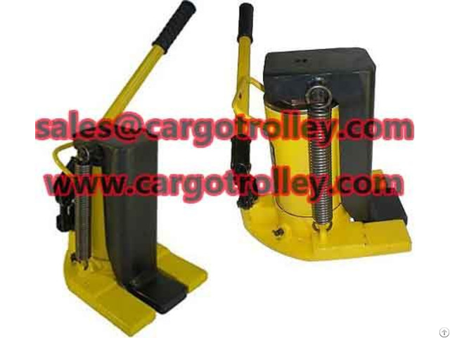 Material Of Hydraulic Jack