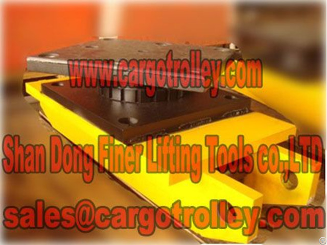 Moving Rigger Skates Handle Easily