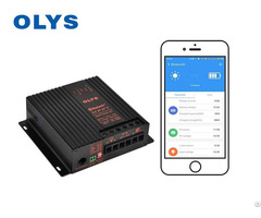 Solar Car Controller Bluetooth App Battery Charging Device