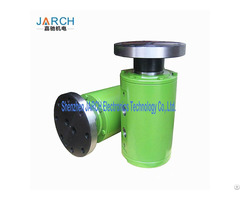 Ss304 Stainless Steel With Round Head Code Multiple Passages Flange Hydraulic Rotary Union