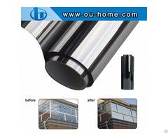 Ouhome Decorative Window Glass Film Solar Tint Sticker
