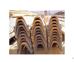 Q235 Ss400 U Type Arch Steel For Mine Timbering