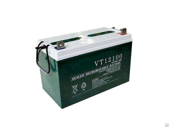 12v 100ah Sealed Lead Acid Solar Power Storage Battery