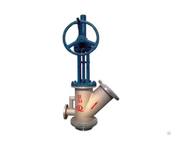 Special Tank Bottom Angle Valve For Coal Slurry