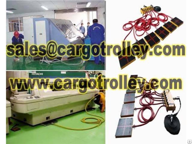 Air Film Transporters Capacity Range