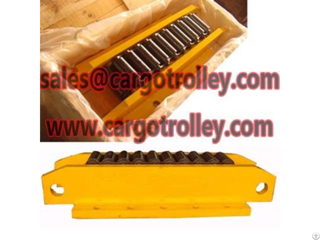 Machinery Movers And Roller Skids
