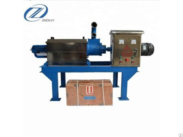 Cow Dung Drying Machinery Of Solid Liquid Separator