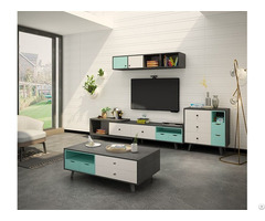 Modern Design Wood Living Room Furniture Set