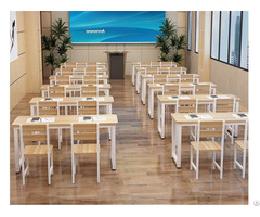 Wood School Furniture With Nice Quality