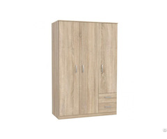 Melamine Particle Board Mdf Wood Bedroom Wardrobe