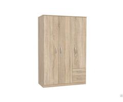 Melamine Particle Board Mdf Wood Bedroom Wardrobe