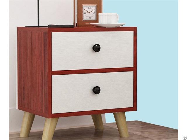 Modern Design Wood Bedside Table Night