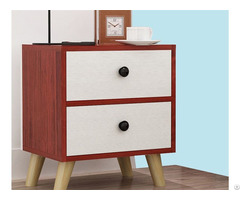 Modern Design Wood Bedside Table Night