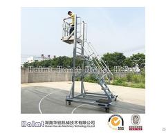 Industrial Lifting Aluminum Platform Ladder