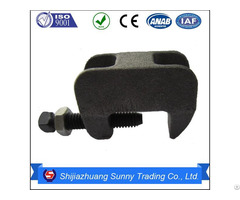 Zinc Plated Malleable Casting Beam Clamp