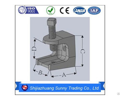 Insulator Support Malleable Casting Electrical Beam Clamps