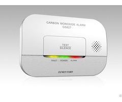 Carbon Monoxide Dc 3v Electrochemical Somoke Alarm Gs827