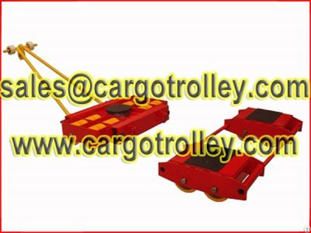 Machinery Dolly Combination Advantages