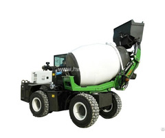 Mobile Hydraulic Concrete Mixer Truck For Sale