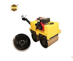 Ym 50 540kg Gasoline Walk Behind Double Drum Vibratory Roller