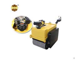 Ym 50c Gasoline Hand Push Hydraulic Dual Wheel Drum Road Roller