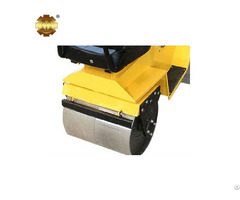 Ym 70c Steering Ride On Double Cylinder Road Roller Machine