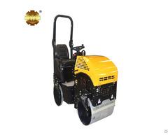Ym 1000 1ton Gasoline Riding Mini Vibratory Road Roller Compactor