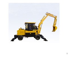 Jhl65 Long Beam Wheel Wheeled Excavator