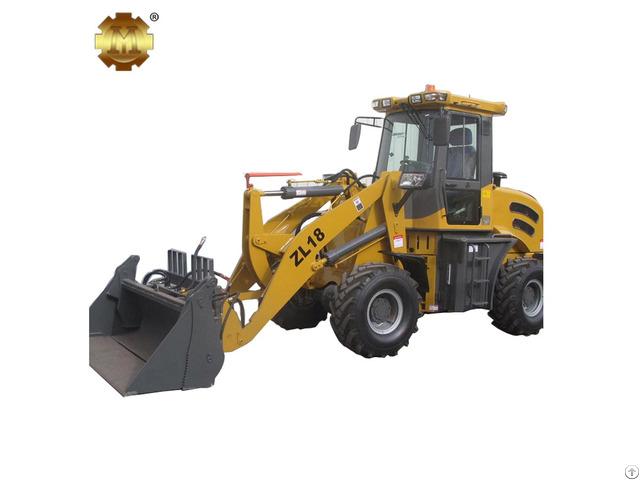 Zl18 1 8t Mini Hydraulic Wheel Loader
