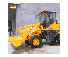 Zl 20 Chinese Manufacturer Price Small Mini Wheel Loader For Sale