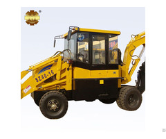 Sz40 16 Backhoe Loader With 0 4m3 Rated Bucket Capacity