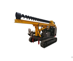 High Quality Spiral Screw Pile Driver