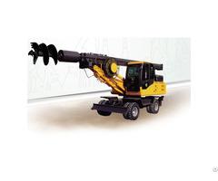 Full Degree Wheeled Type Hydraulic Rotary Drilling Rig