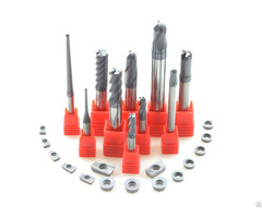 Zhuzhou Hot Sale Solid Carbide Milling Bits End Mill