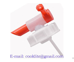 Din 71 Aeroflow Dispensing Tap Fda Polyethylene Anti Glug Drum Faucet Spigot
