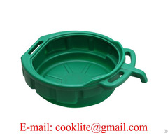 Pe Plastic Oil Recycler Drain Pan Fluid Water Drip Tray 15 Litre