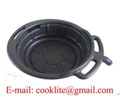 Pe Plastic Oil Drain Pan Portable Drip Tray 17l