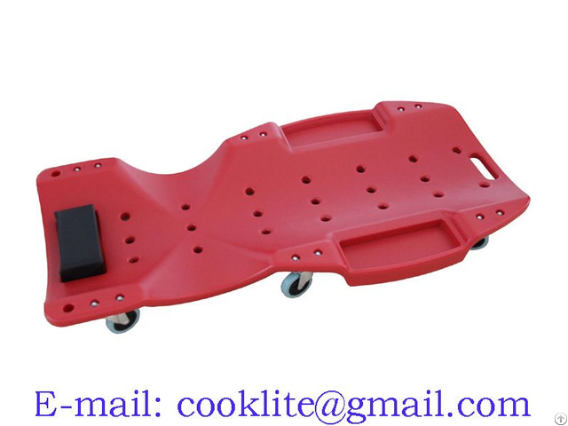 Composite Creeper Sliding Rolling Trolley Bed For Mechanic 48