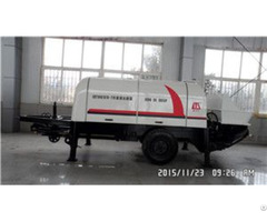 Hbt60s1816 110 Trailer Mounted Concrete Pump With Ccc Iso9001 Certificates On Sale