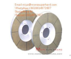 Double Disc Diamond And Cbn Grinding Wheel For Seal Magnetic Materials Miya At Moresuperhard Dot Com
