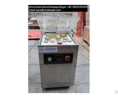 Multepak Caviar Vacuum Packaging Tin Sealing Machine