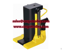 Hydraulic Jack For Lifting Work