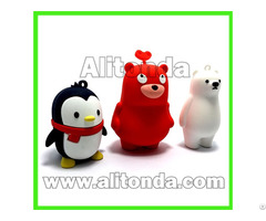 Pvc Cartoon Animal Anime 3d Figures Three Dimension Characters Dolls Promotional Gifts Custom