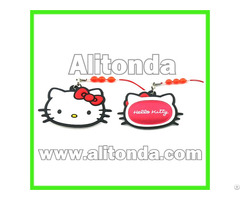 Soft Pvc Mini Butterfly Monkey Cartoon Shape Mobile Phone Screen Cleaner Custom