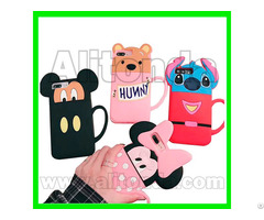 Silicone Pvc Tpu Cartoon Simple Style Phone Case Custom