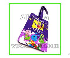 High Quality Promotional Pvc Travel Plane Luggage Tag Custom
